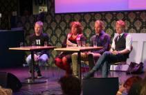 Internationaal debat tijdens het WeAreTheHague Festival, Den Haag, november '13.