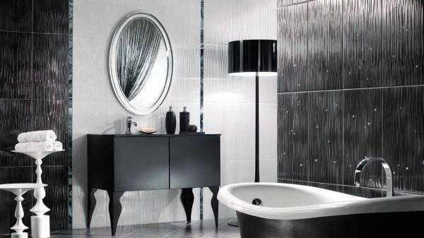 Дизайн укладки плитки в ванной комнате в фото