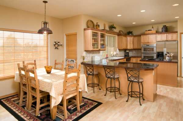 Как оформить обеденную зону на кухне фото – как оформить ...