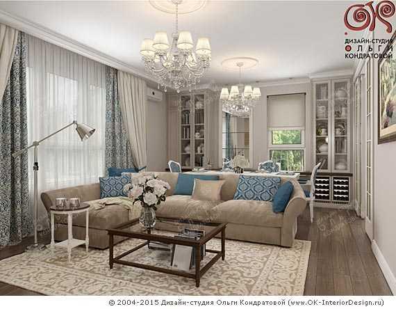 Спальня гостиная 17 кв м – Дизайн интерьера гостиной 17 кв ...