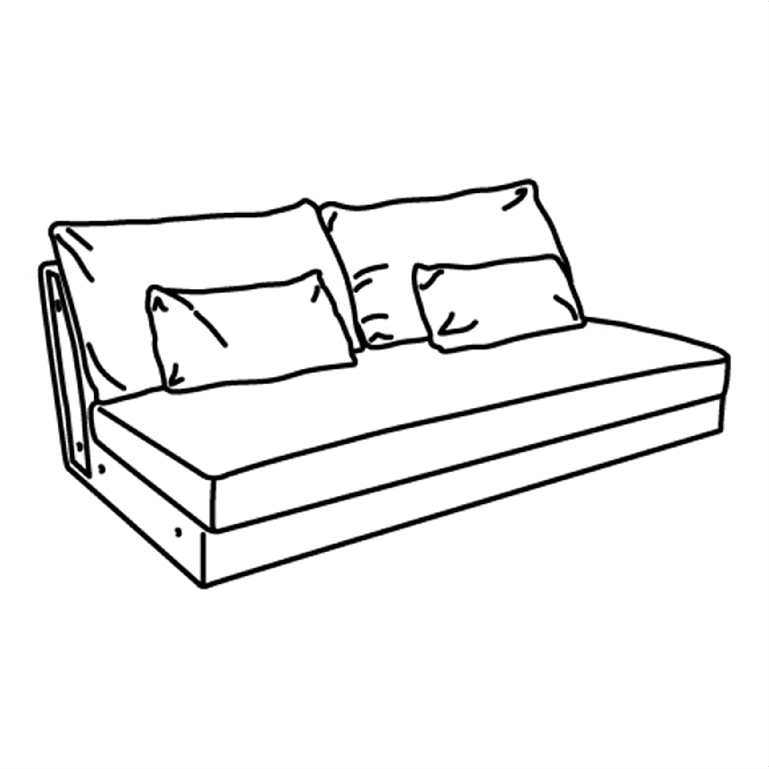 Färlöv sofa bed is comfortable to sleep in since it has a 12 cm thick foam mattress that is just as pliable as a bed mattress. FARLOV 3-seat sofa, White   IKEA Cyprus