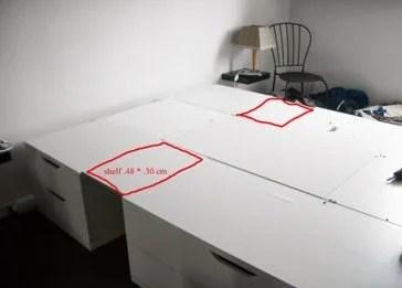 space saver bed ikea hackers. Black Bedroom Furniture Sets. Home Design Ideas