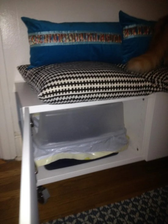 Ikea Hack Besta Storage Cabinet Hidden Cat Litter Boxes