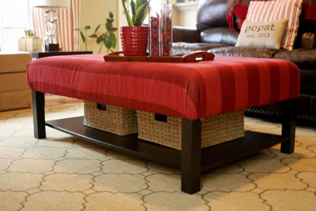 Cool living room ottoman from si