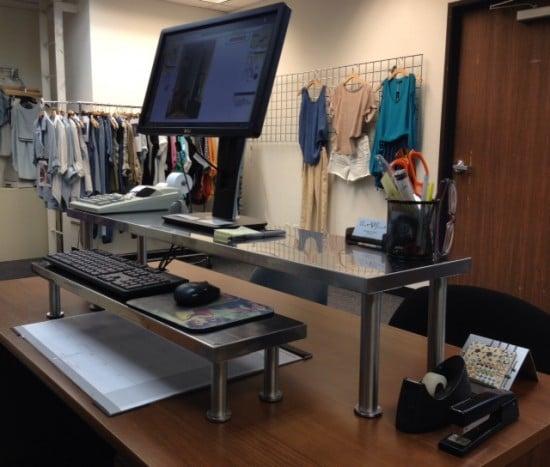 My Ikea Hack Standing Desk