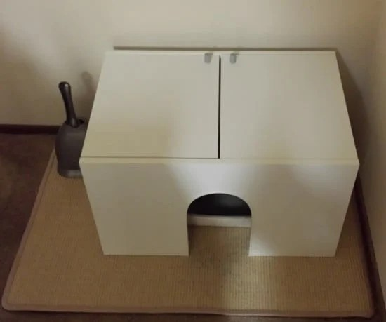 Fullen sink base cabinet as a littler box cover