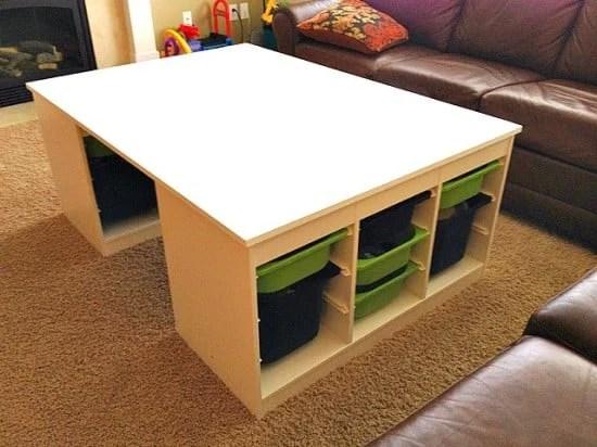 LEGO-Table-IKEA-Hack