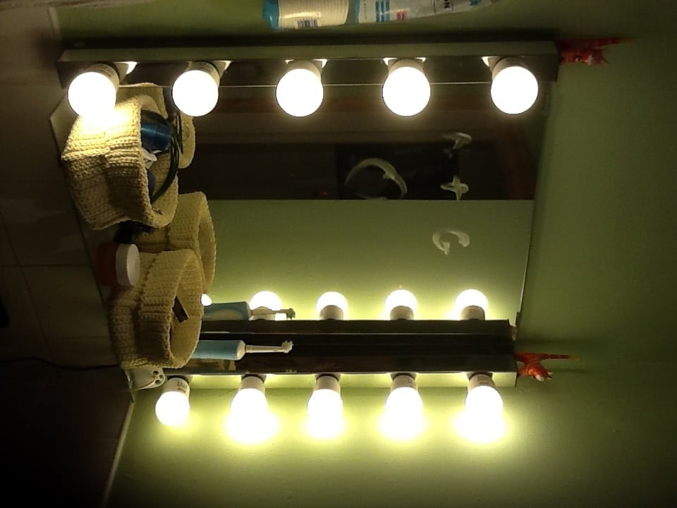 Glamorize Your Bathroom Mirror Ikea Hackers