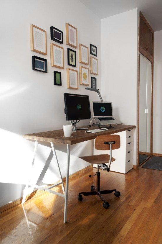 Alex Numerar Desk Ikea Hackers