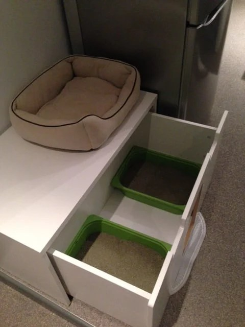 Stuva Litterbox For 4 Kitties Ikea Hackers