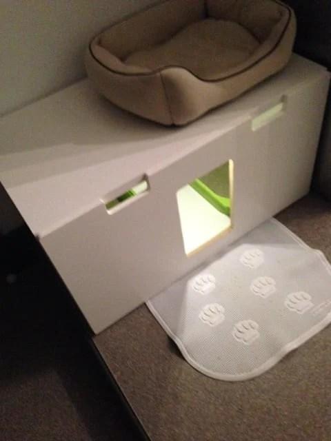 Stuva Litterbox For 4 Kitties Ikea Hackers