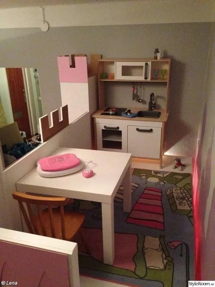 Kura Castle With Upper Play Deck Ikea Hackers