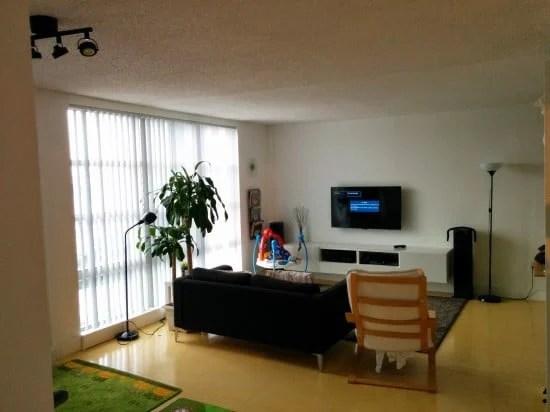 new tv area