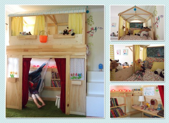 From Bunk Bed To Playhouse Ikea Hackers