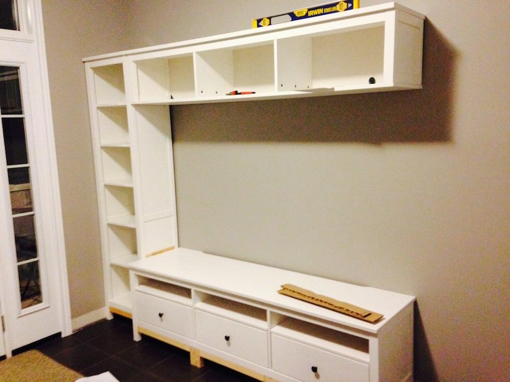 hemnes entryway hack ikea hackers. Black Bedroom Furniture Sets. Home Design Ideas