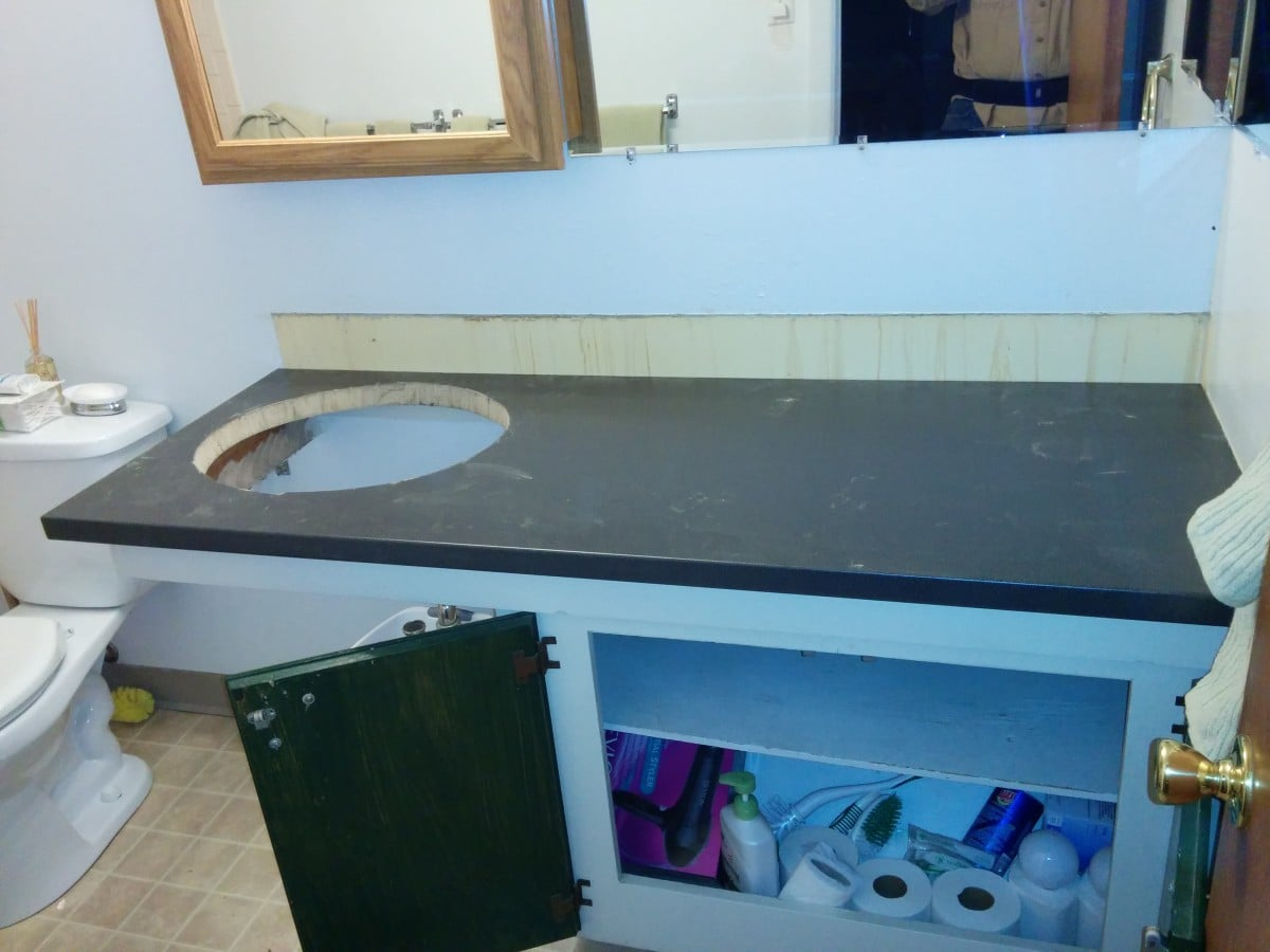 1960\'s bathroom modernized with PRÄGEL, PERFEKT LIDINGÖ, & ÄDEL ...