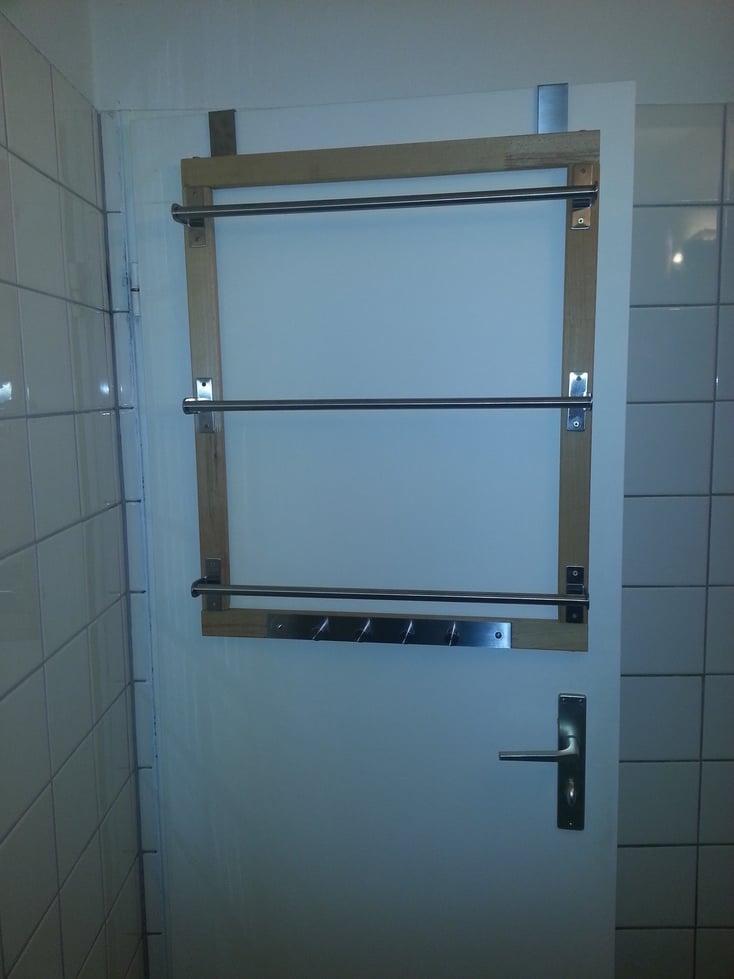grundtal over the door towelrack ikea