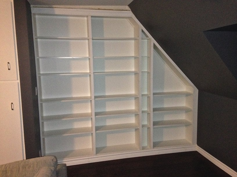 Make Me A Built In Bookcase She Said Ikea Hackers