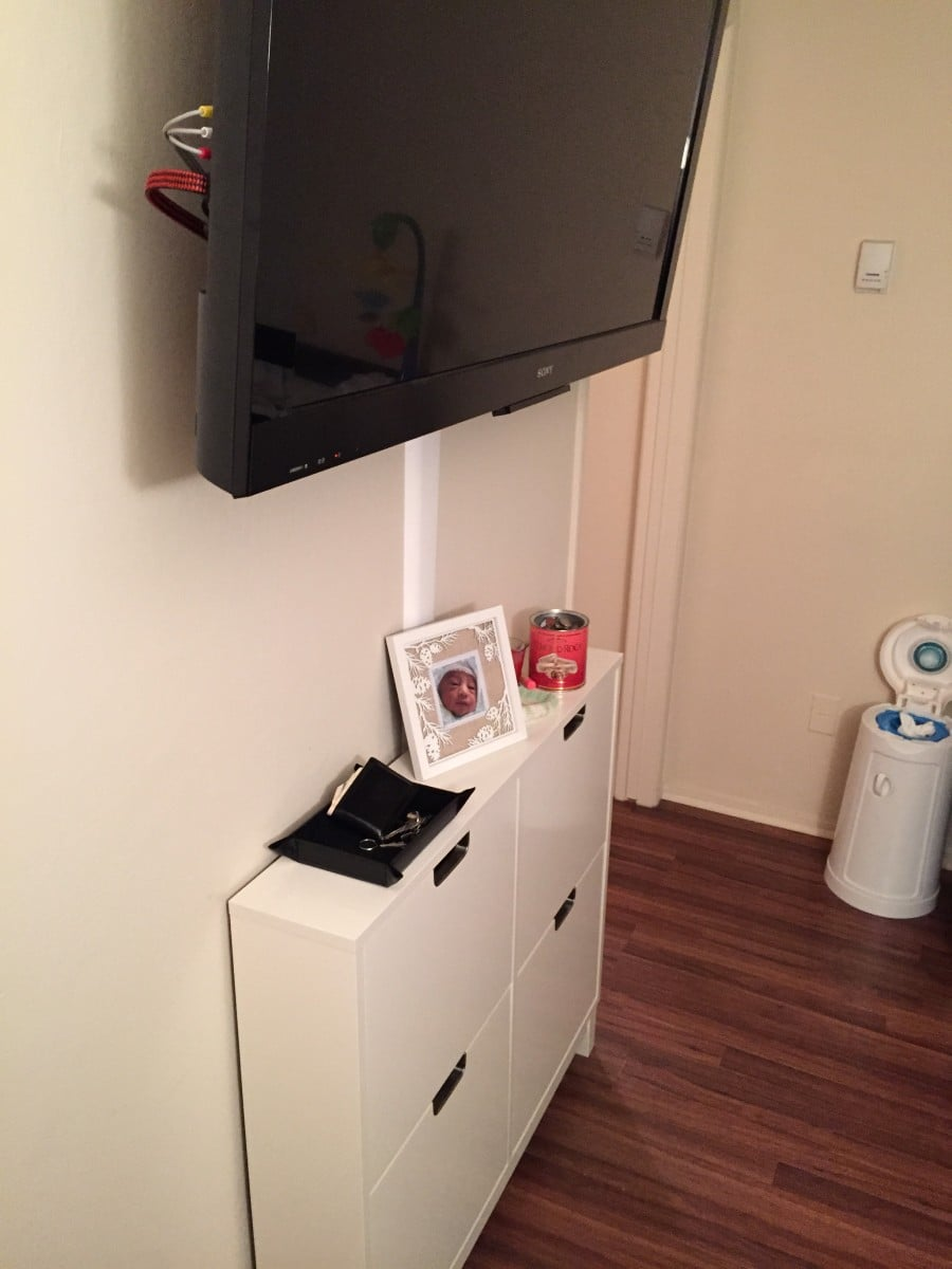 The Stall Ultra Slim Entertainment Center Ikea Hackers