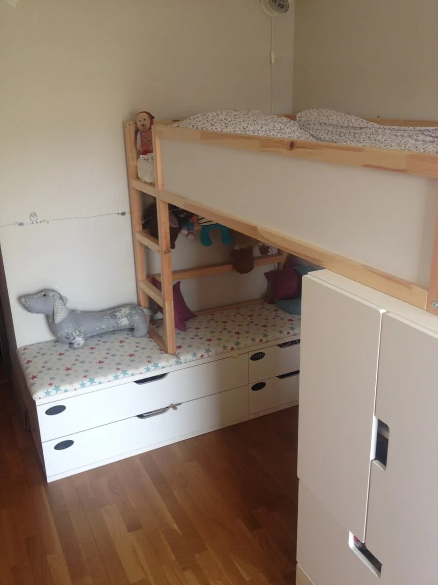 Kura Bed Gains Height Ikea Hackers