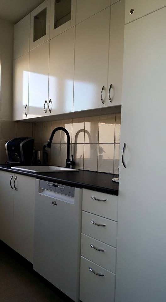 Nice Kitchen cabinet extension with IKEA BILLY