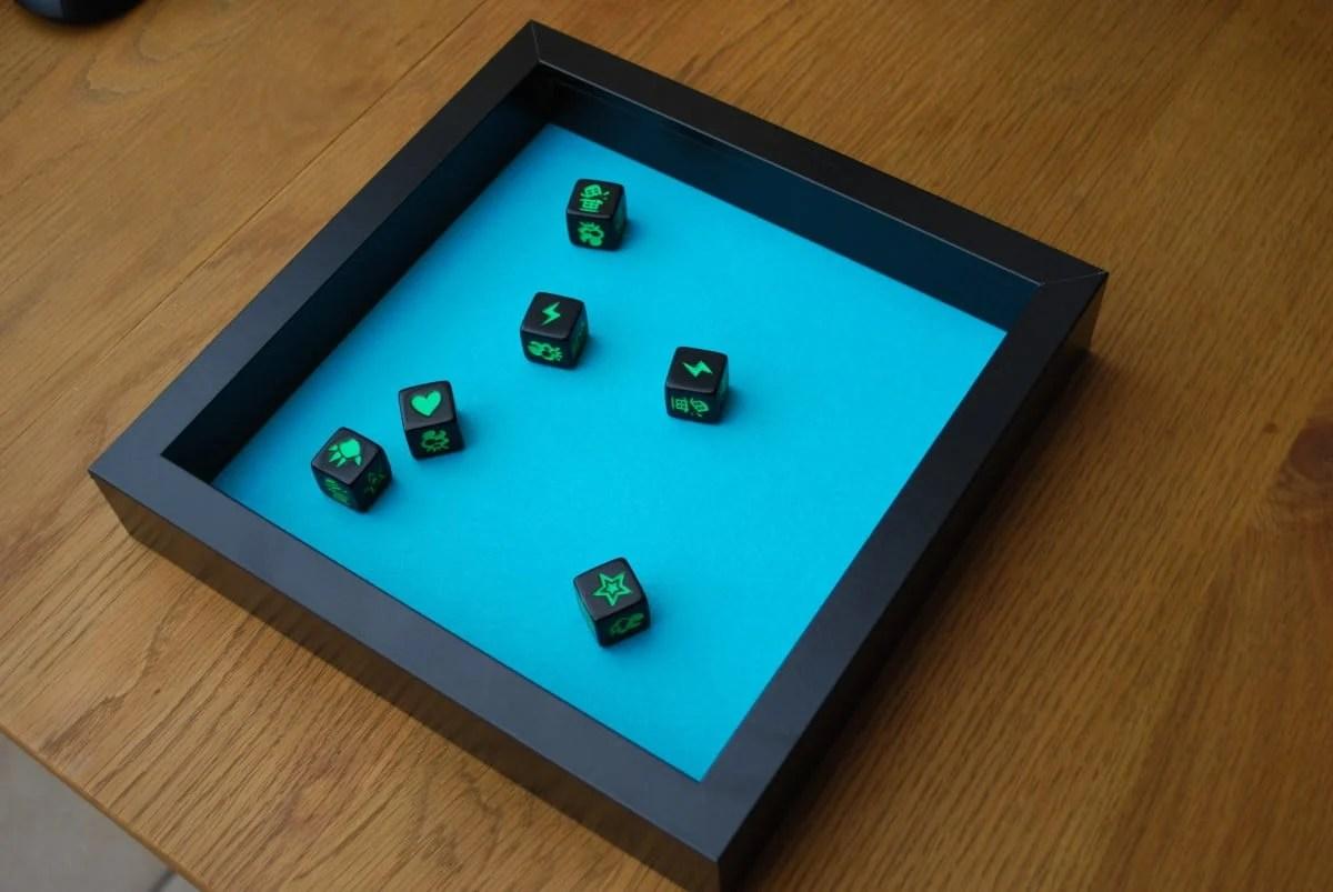 custom dice tray IKEA hack