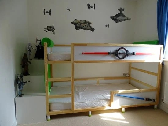 Tiny Box Room Ikea Stuva Loft Bed Making The Most Of: Kura, Trofast & Stuva Bed Hack