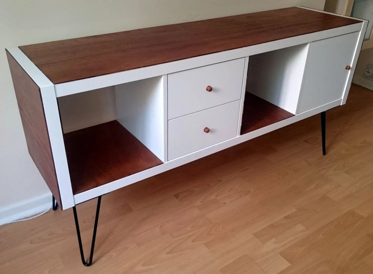 Credenza Metod Ikea : Kallax grows up to be a glamorous credenza ikea hackers