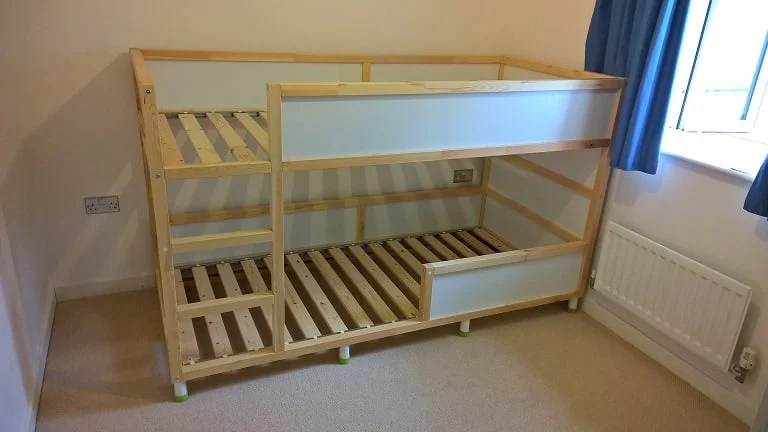 Luxury Star Wars KURA Bunk Bed Hack IKEA Hackers
