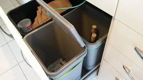Automatic VARIERA Kitchen Trash Bin For METOD Drawer
