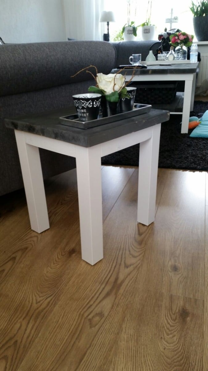 IKEA LACK Rustic Coffee Table DIY | IKEA Hackers