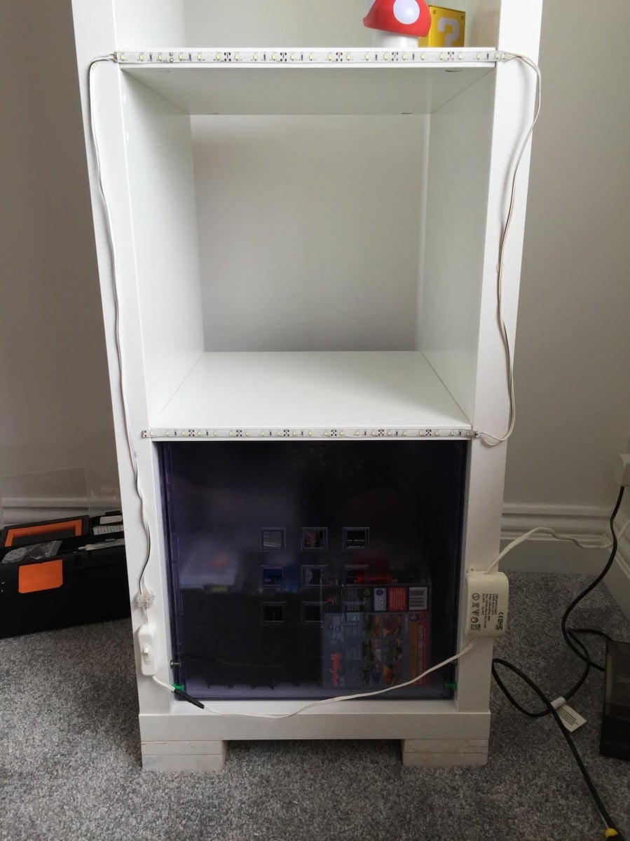 Kallax retro console display ikea hackers for Email ikea com