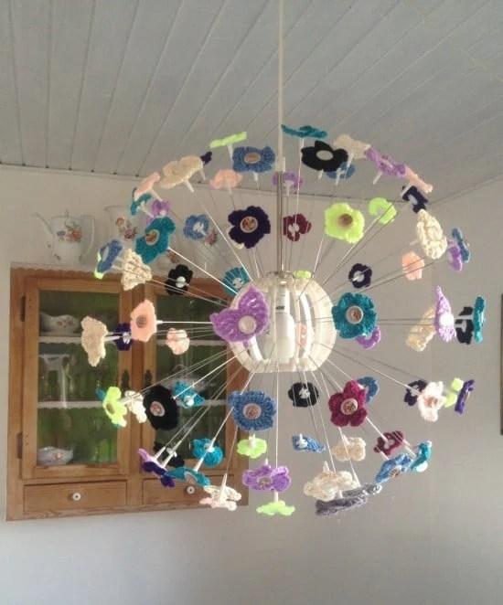 ikea maskros crochet lamp ikea hackers. Black Bedroom Furniture Sets. Home Design Ideas