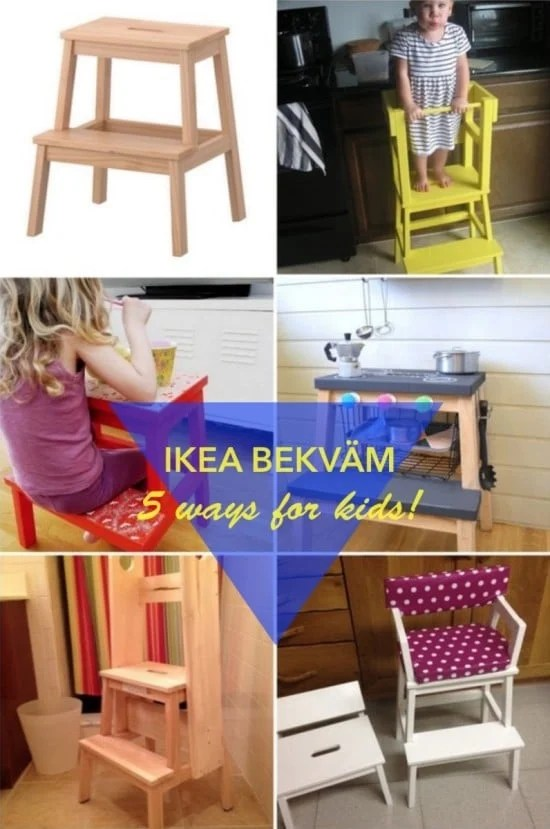 BEKVAM Step Stool - 5 fun ways for kids