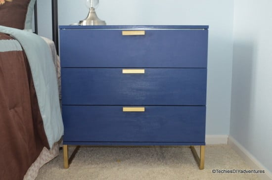 IKEA TRYSIL Dresser Makeover inspired by One Kings Lane Campaign dresser