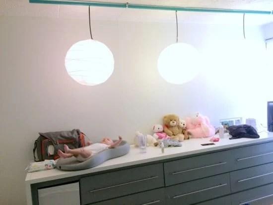 IR controlled REGOLIT for remodeled nursery | IKEA Hackers