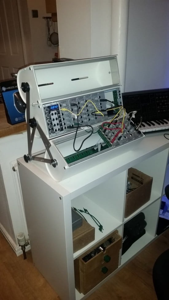 Diy Modular Synth Case From Ikea Enudden Toilet Roll