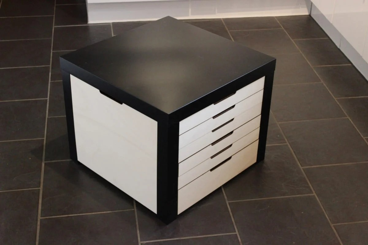 Lack table with lego storage drawers ikea hackers for Email ikea com