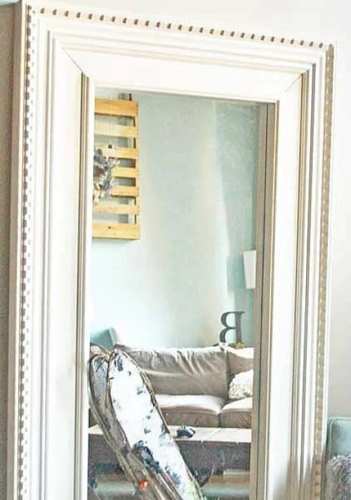 Mongstad Floor Mirror Makeover Ikea Hackers