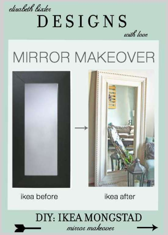 Mongstad floor mirror makeover ikea hackers - Ikea miroirs deco ...