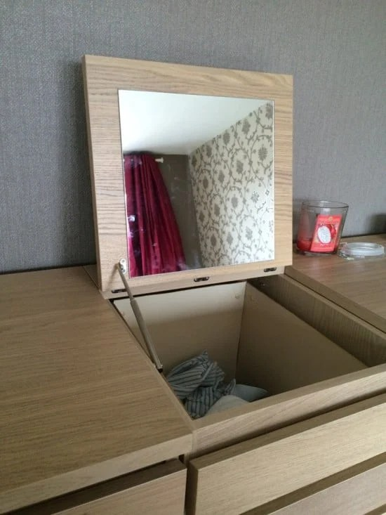 Disguised MALM laundry basket | IKEA Hackers