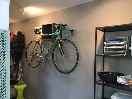 IKEA VALJE wall mounted bike rack