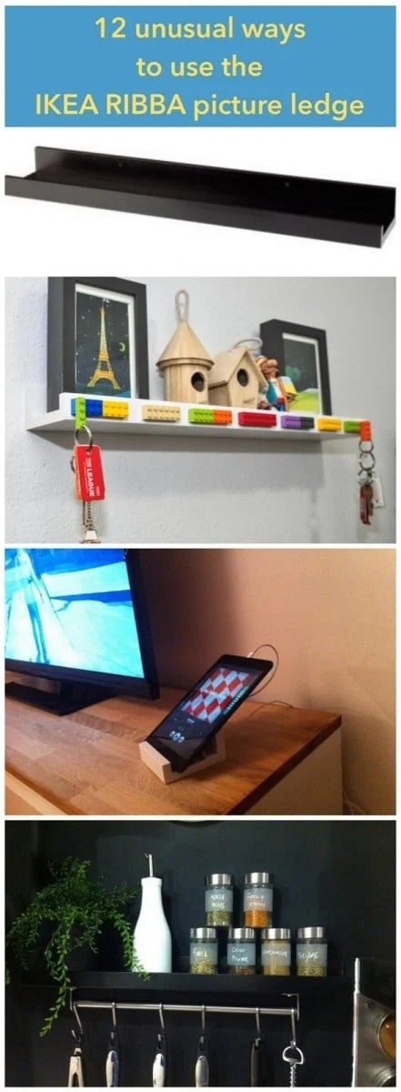 12 Unusual Ways To Use The Ribba Picture Ledge All Round