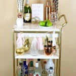 Ikea Hack Gold Marble Bar Cart Ikea Hackers
