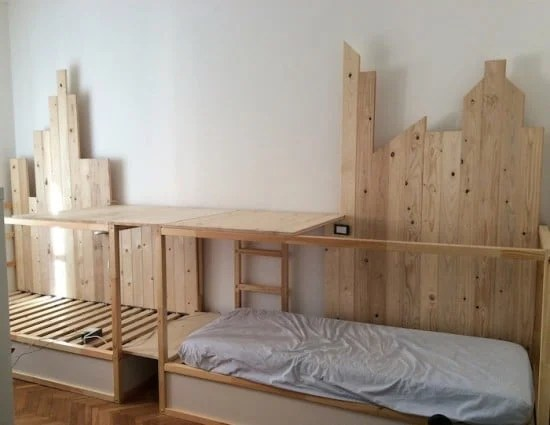 Ikea Kura triple deck