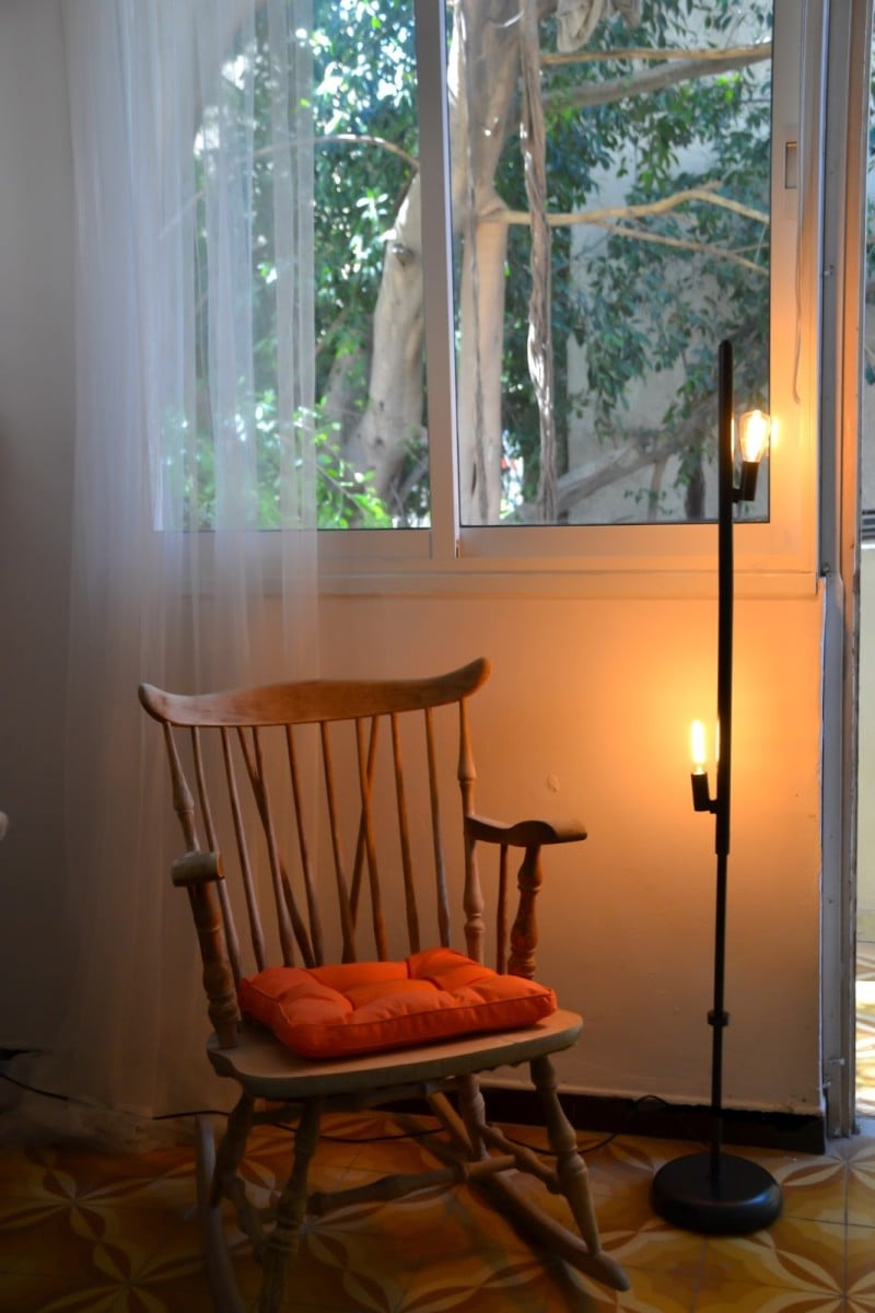 From An Old Floor Lamp To A Cool Retro Lamp Ikea Hackers