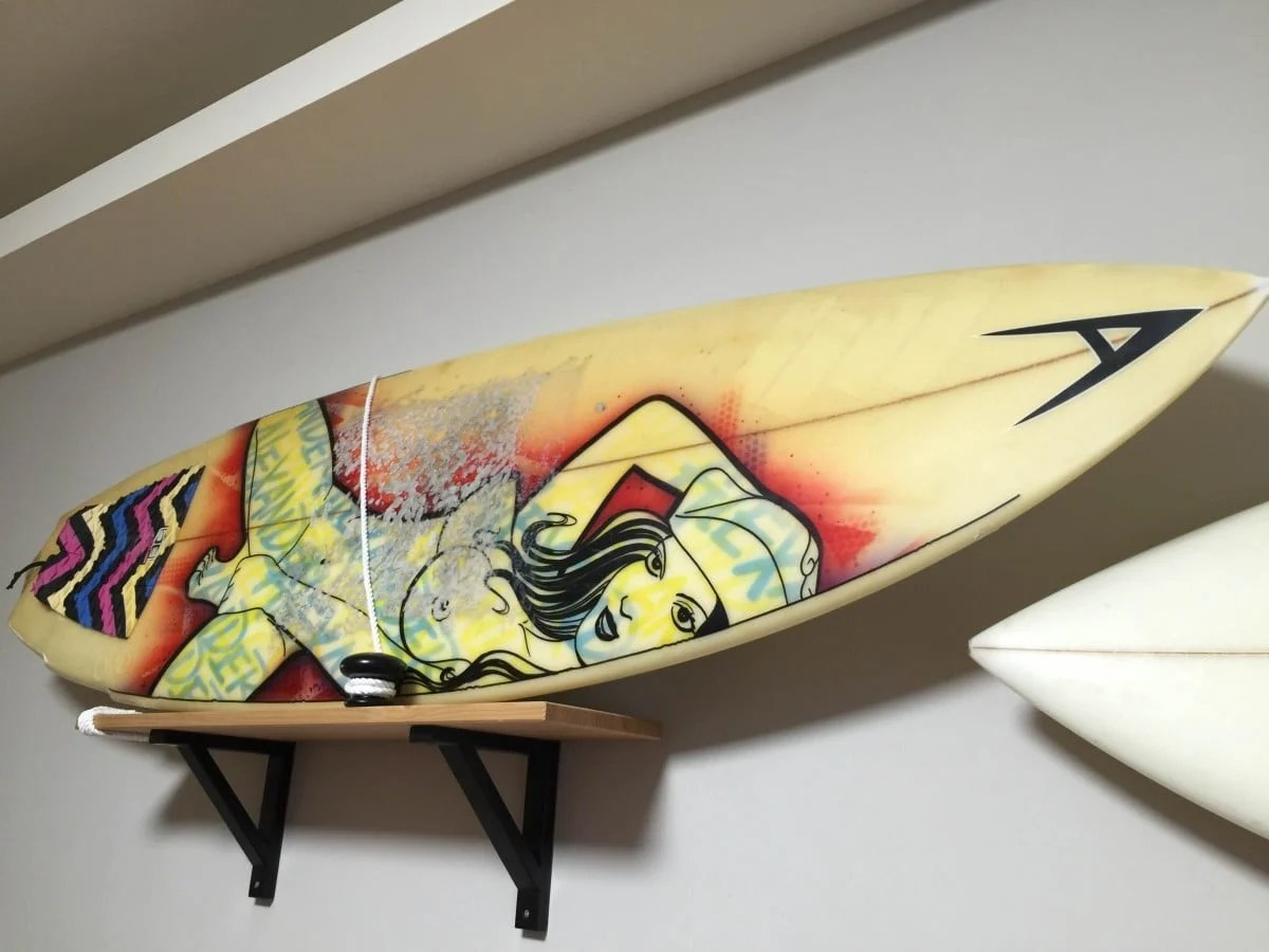 Contemporary Decorative Surfboard Wall Racks Gallery - All About ...