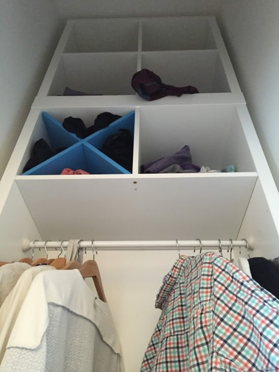 Kallax For Closet Space Ikea Hackers