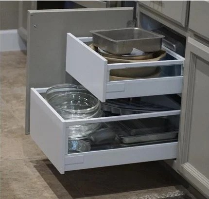 If you have nominal 18u201d wide cabinets that are 24u201d deep in your kitchen (or  anywhere for that matter), you can install IKEA Maximera drawers as pull-outs  in ...