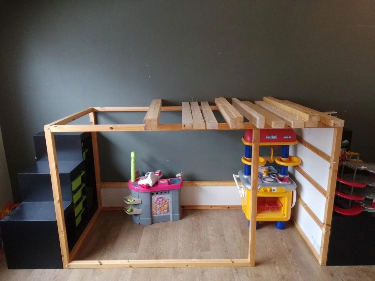 Ikea Kura Double Decker Playhouse Ikea Hackers